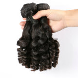 Do Virgin natural do produto de cabelo 100% de Remy tecelagem peruana do cabelo humano