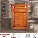 Muebles antiguos de madera del gabinete de cocina de la puerta (GSP5-008)