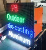 P8 옥외 Dis 주물 광고를 위한 알루미늄 내각 발광 다이오드 표시 스크린