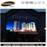Alta visualizzazione di LED esterna esterna di metro quadro P10 di luminosità 7000CD