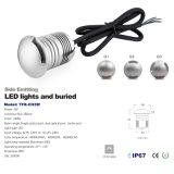 Illuminazione universale di tensione 3W IP67 LED per l'indicatore luminoso esterno del partito di giardino