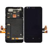 Schermo di tocco del telefono cellulare per lo schermo dell'affissione a cristalli liquidi di Nokia Lumia 620
