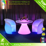 再充電可能なマルチカラーライト白熱立方体LEDの家具