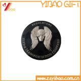 Regalo de encargo del recuerdo de la moneda del doble de la alta calidad de la insignia (YB-HD-140)