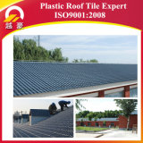 Telhas de telhado plásticas onduladas do estilo de Kerala da resina sintética do certificado do ISO