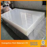 Hoja plástica de acrílico transparente del plexiglás del molde PMMA de la hoja