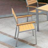 안뜰 정원 옥외 호텔 사무실 홈 Polywood 테이블과 팔 의자 (J817)