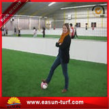 紫外線抵抗のPEの単繊維の中国のフットボール競技場のサッカーのための人工的な草の泥炭