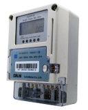 Karten-Vorauszahlungs-einphasig-elektrisches Messinstrument, Stromstoss-Schutz-drahtloses Energien-Messinstrument