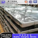 Calha de aço laminada, centro de deteção e de controlo laminado das placas de aço de carbono