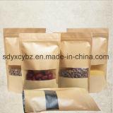 Mit Reißverschluss Beutel-/Doypack-Beutel/Reaealable Beutel für Nahrung oben stehen