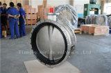 El acero inoxidable de CF8 CF8m ensanchó válvula de Butterlfy con ISO Wras Approbed (CBF01-TF01) del Ce