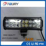 barra chiara fuori strada dell'automobile LED della lampada della barra del CREE LED di 4D 54W 4X4