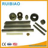 Estándar o no estándar no estándar y C45, acero, 20crmnti, acero, 40cr, estante de engranaje material 16mncr5