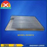 Radiateur en aluminium anodisé de profil pour le bloc d'alimentation de laser