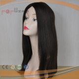 A classe superior mergulha a peruca superior de seda das mulheres da parte dianteira do laço da relação do cabelo da classe (PPG-l-0821)