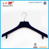 Ganchos plásticos do terno do fornecedor do gancho de China com barra das calças