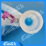 Tubo de oxígeno de circuito de respiración coaxial desechable