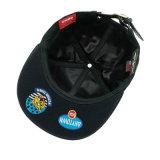 Casquillo bordado algodón de encargo del deporte del Snapback del sombrero del ocio