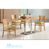 Moderner fester hölzerner speisender Stuhl für Kaffee (HW-009C)