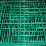 Acoplamiento de alambre soldado cubierto PVC de los colores de la alta calidad cuatro