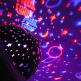 Репроектора ночи луны неба СИД свет проекции звёздного вращая
