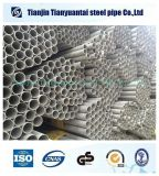 ASTM304 soudure Stainess Steel Pipe