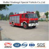 type euro 4 de réservoir d'eau de 8ton Dongfeng de camion de pompe à incendie