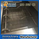 Banda transportadora inoxidable del acoplamiento de alambre de la flexión del plano de acero de la fábrica