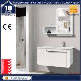 Cabina de madera blanca de los muebles del cuarto de baño de Customzed con las piernas para el europeo