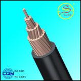Câbles isolés par PVC isolés par PVC en aluminium de conducteur