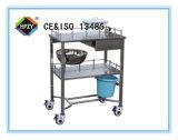 (B-32) Вагонетка обработки нержавеющей стали для пользы стационара