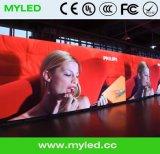 Consumición de las energías bajas que hace publicidad de la visualización video de la etapa LED