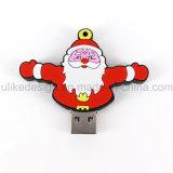 Lecteur flash USB de jour de promotion de cadeau de Joyeux Noël (UL-PVC031)