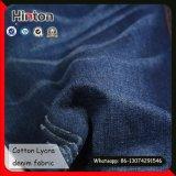 98% Coton 2% Spandex Dark Blue Denim Fabric 7 oz