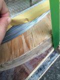 Fonction de fil obligatoire et fil isolé galvanisé de fer de traitement extérieur