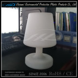 PE Qualidade excelente cores mudou bateria operada lâmpada de mesa LED