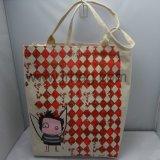 Подгонянные высоким качеством сверхмощные сумки Tote холстины хлопка для женщин