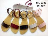 Signora piana Shoes Sandal del tallone delle donne casuali