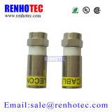 Conetores de cobre do Ppc Ex6xl F para RG6