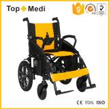 Sedia a rotelle poco costosa pieghevole di energia elettrica di prezzi