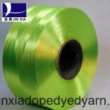 Filato di poliestere tinto stimolante del filamento 600d/192f di FDY