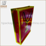 Logotipo del fabricante de China personalizada impresión reutilizable Bolsa de papel Kraft