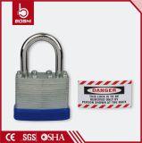 一連の安全パッドロックによって薄板にされる鋼鉄パッドロック(BD-J41)