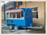 Ys-FT290 Forte Aço Mold Ice Cream Van Mobile Food Trailer