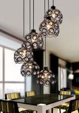 Modern Romantic Hollow Out Coffee Bar Lampe suspension pendulaire décorative