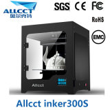 300X300X300building impressora de Induststrial 3D da elevada precisão do tamanho 0.05mm