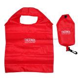 Sac en nylon se pliant promotionnel de cadeau de sac de sac à provisions