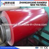 Bobina de acero de PPGI con la pintura de la alta calidad