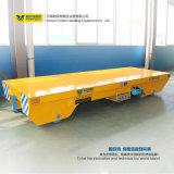 Rimorchio elettrico di trasporto autoalimentato sbarra collettrice con la piattaforma bassa (BHX-25T)